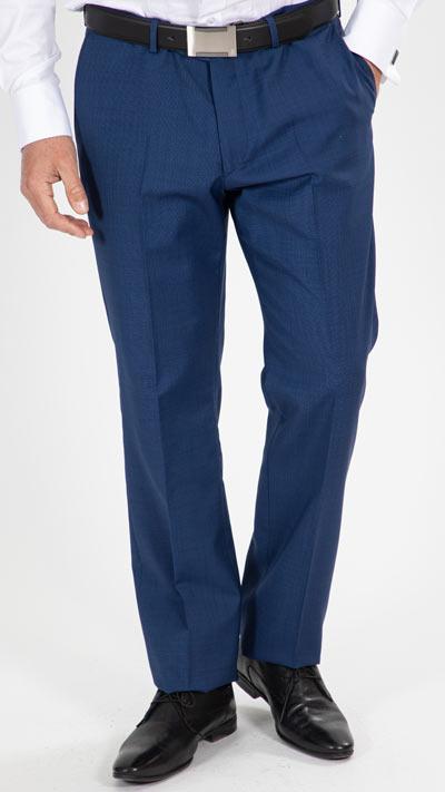 pantalon bleu cobalt