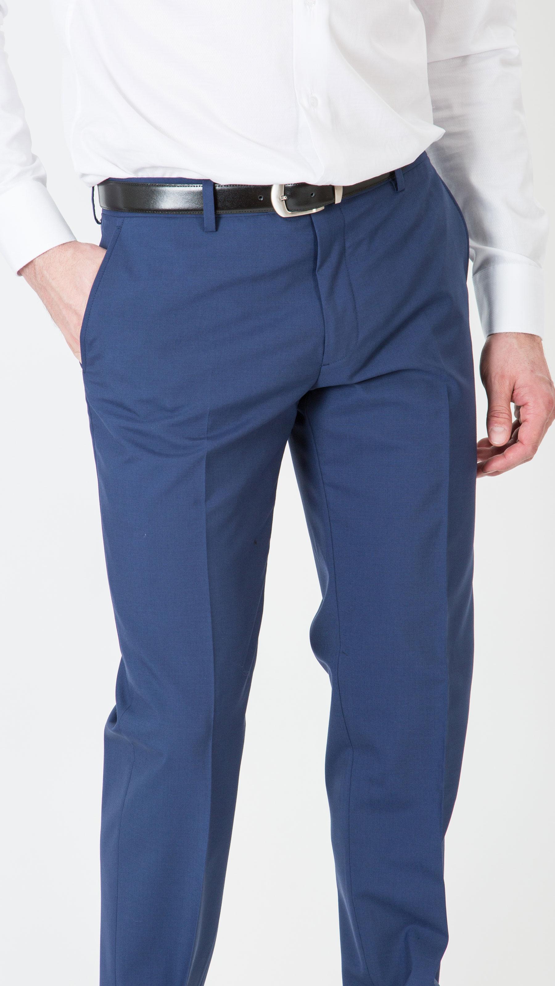 Pantalon ville bleu foncé