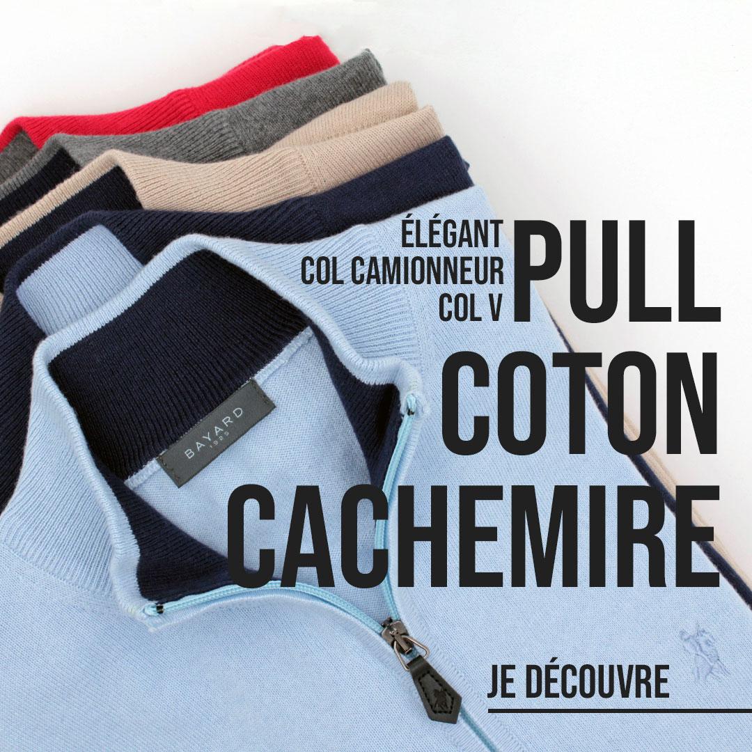pull coton cachemire