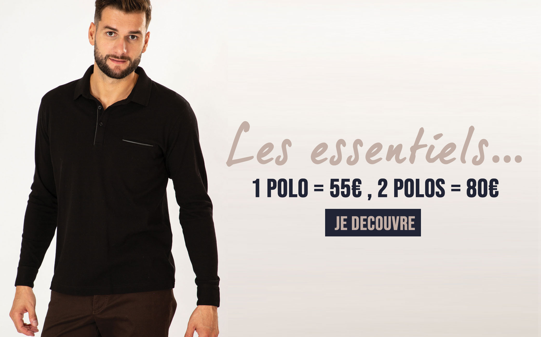 Promotion polo Bayard collection AH19
