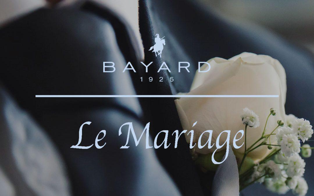 Un costume de mariage fait pour vous