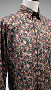 chemise aux roses