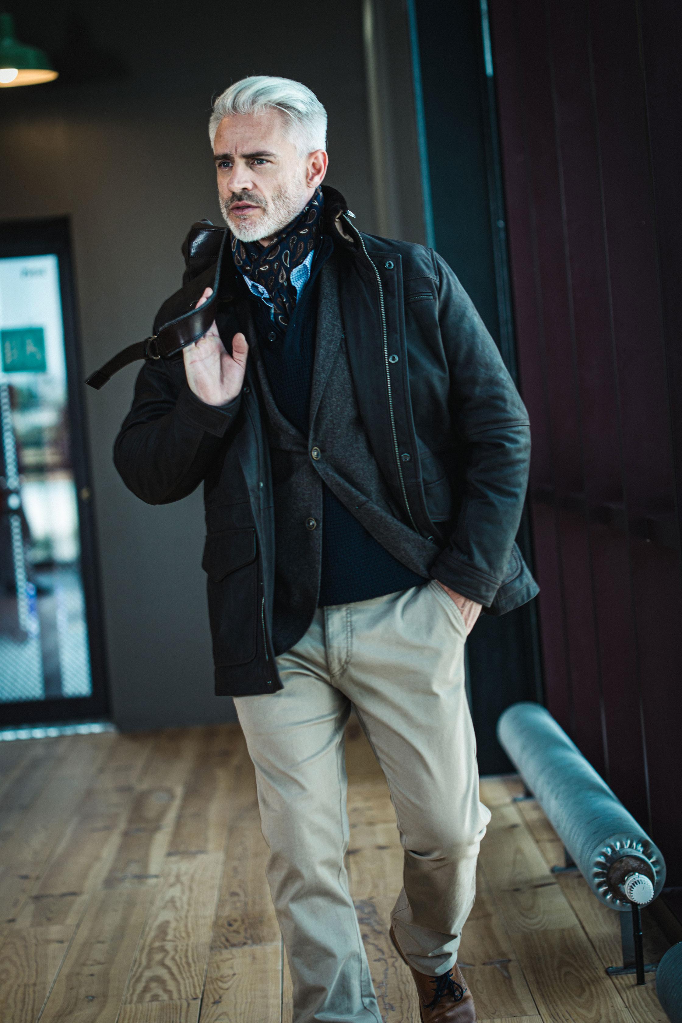 Bayard collection Automne-hiver 2019 pantalon