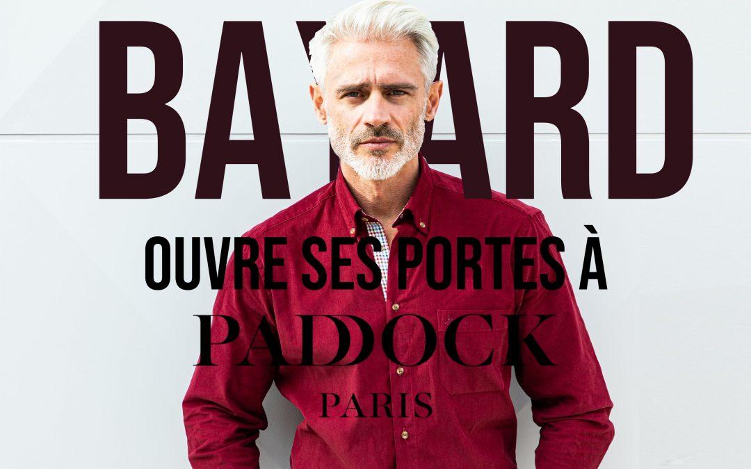 Bayard s'installe à Paddock, le premier outlet parisien