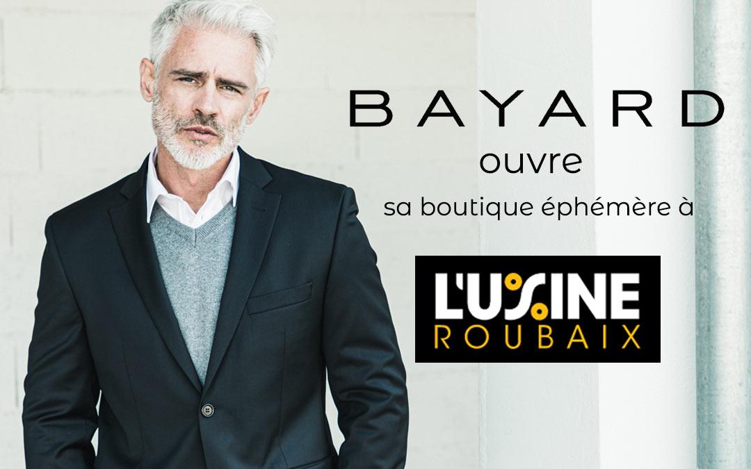 Bayard s'installe à l'Usine de Roubaix, le premier outlet de France