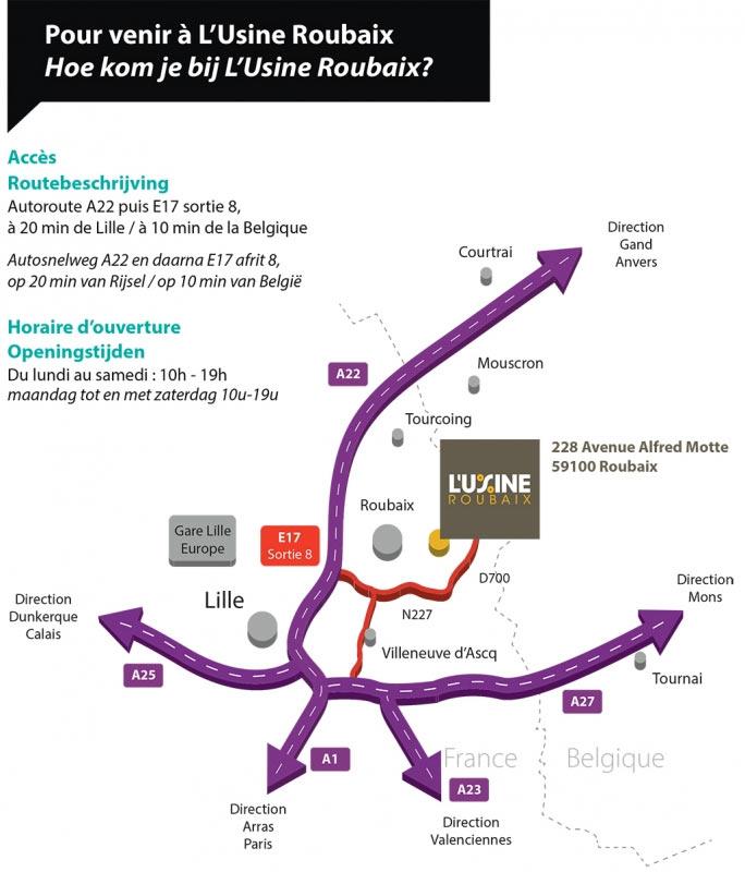 plan de l'usine roubaix