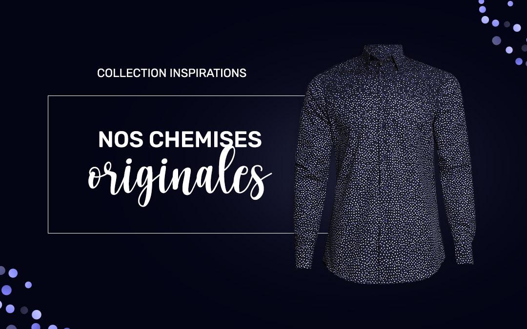 Collection « Inspirations » : des chemises de Fêtes qui cassent les codes !