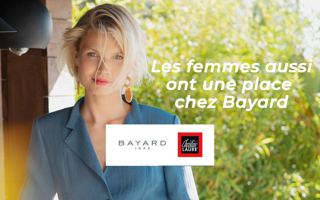 Christine Laure s'invite chez Bayard