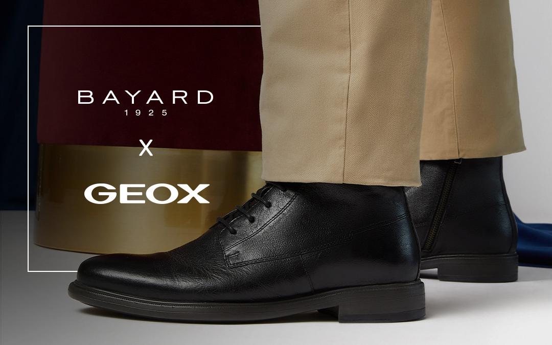 Geox s'invite chez Bayard